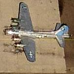 """Sentimental Journey""B-17 N9323Z / 44-83514/F/U (cn 32155) on Falcon Field (Birds Eye)"