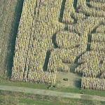 Bless our troops maze (Bing Maps)
