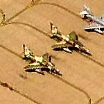 A-4 Skyhawks in Agressor Squadron paint (Birds Eye)