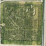 Border War maze (Bing Maps)