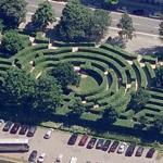 Copenhagen maze (Bing Maps)