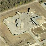 Unusual secure Air Force facility (Birds Eye)