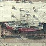 Clearman's Galley - Restaurant in a boat on land (Birds Eye)