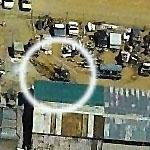 Helicopter and Planes in Junk Yard (Birds Eye)
