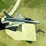 F-100 Super Sabre at the former Brooks AFB