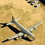 DC-6 at Falcon Field (Birds Eye)