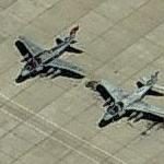 EA-6B Prowlers at Nellis AFB (Birds Eye)