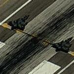 Two Mirage 2000's on takeoff roll