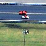 Race in progress at Memphis Motorsports Park (Birds Eye)