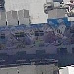 Whole building mural (Birds Eye)