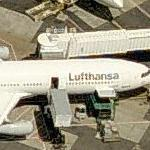 Lufthansa Airbus A340-500 (Birds Eye)