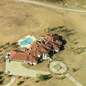 Garth Brooks & Trisha Yearwood's House (Bing Maps)
