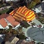 House being fumigated (Bing Maps)