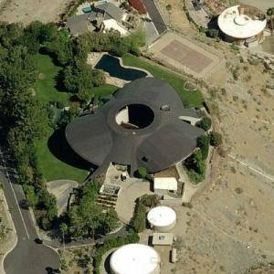 'Hope House' by John Lautner (Bing Maps)