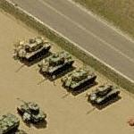 Bradley fighting vehicles (Birds Eye)