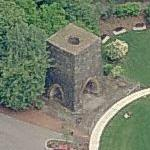Historic Iron Furnace Chimney (Birds Eye)