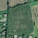 Escobar's Highland Farms Maze (Bing Maps)