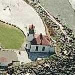Alki Point Lighthouse (Bing Maps)