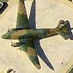 Douglas C-47 Skytrain / Dakota at Lackland AFB (Birds Eye)