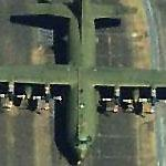 British C-130K at Memphis International (Birds Eye)