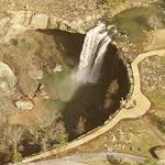 Noccalula Falls (Birds Eye)