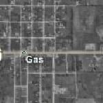 Gas, Kansas (Bing Maps)
