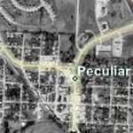 Peculiar, MO (Bing Maps)