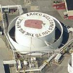 Amoco Welcomes You To The Big Apple (Bing Maps)