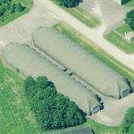 NATO tank sheds
