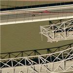 Removing the old Carquinez Strait Bridge