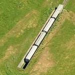 Trains in bunkers at Concord Naval Weapons Station (Birds Eye)
