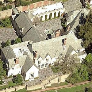 Greystone Mansion and Park (Birds Eye)