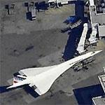 Concorde at JFK terminal (Birds Eye)