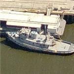 Former USS Dekaury (YTB-178) tugboat / fireboat