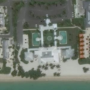 Albany House - Bahamas Villa owned by Tiger Woods (Bing Maps)