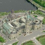 Canadian Parliament Centre Block (Bing Maps)