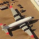 Douglas DC-6s undergoing restoration at Ryan Field (Birds Eye)