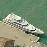 Private yacht in Venice (Birds Eye)