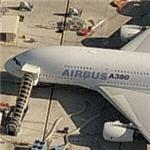 Airbus A-380 SuperJumbo (Birds Eye)