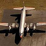 Pair of Douglas DC-6s at Opa Locka Airport (Birds Eye)