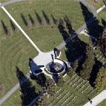 Gettysburg National Cemetery (Birds Eye)