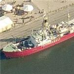 Lightship Fehmarnbelt (Birds Eye)