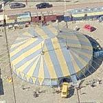Circus tent on the waterfront (Birds Eye)