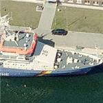 Küstenwache (German Coast Guard) coastal patrol boat BP 26 Eschwege