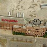 Colgate-Palmolive Factory & Clock (Birds Eye)