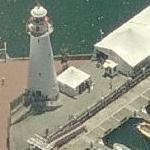 Cape Bowling Green lighthouse (Birds Eye)