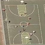 Basketball Game In Progress (Birds Eye)
