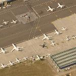 Airplanes at Linate Airport