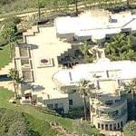 Arnold Schwarzenegger's old house - 25,000 Sq Ft (Birds Eye)