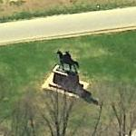Anthony Wayne Statue (Birds Eye)